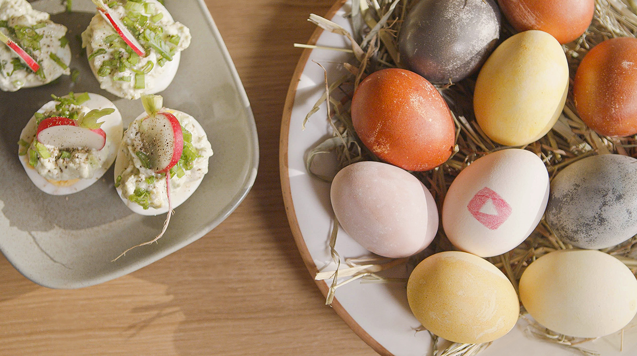 Idealne jajka na Wielkanoc
