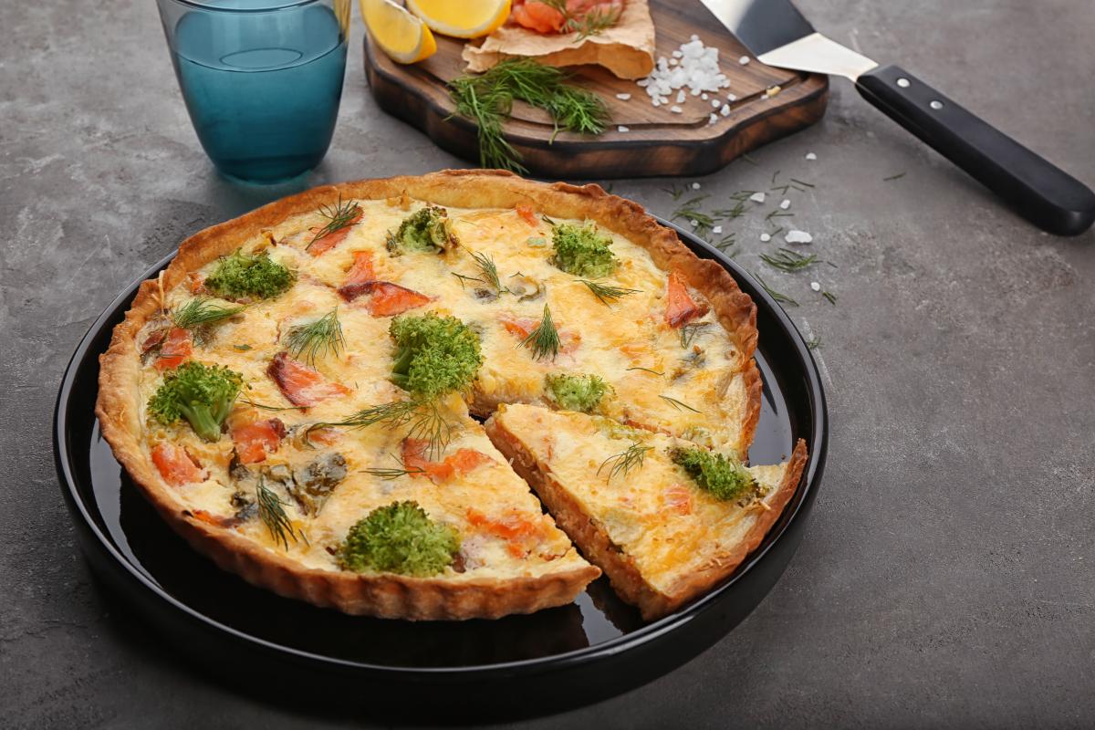 Tarta z warzywami na patelnię