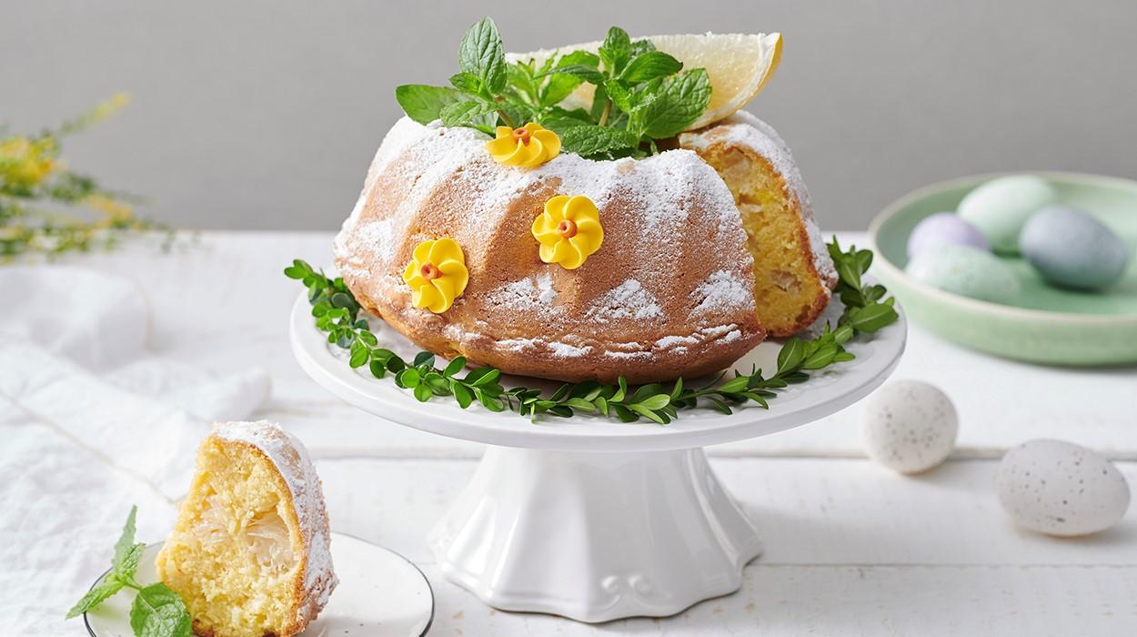 Wielkanocna babka z pomelo