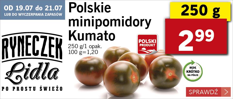 minipomidory Kumato
