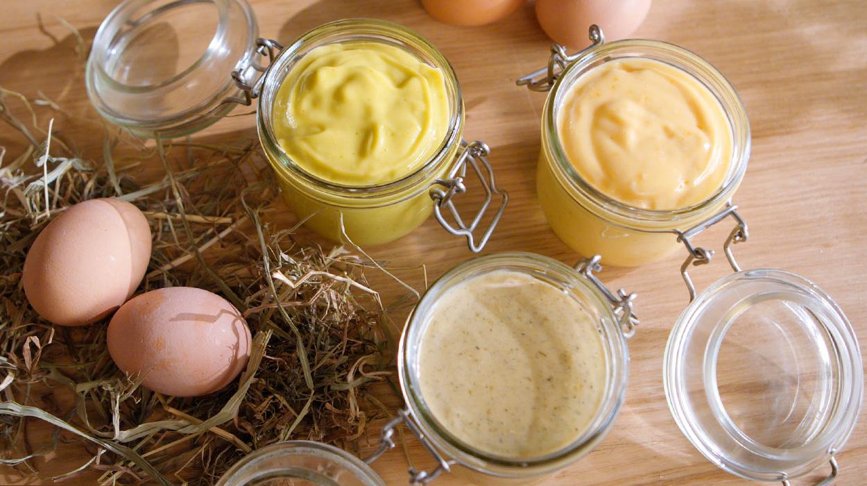 Domowe majonezy smakowe