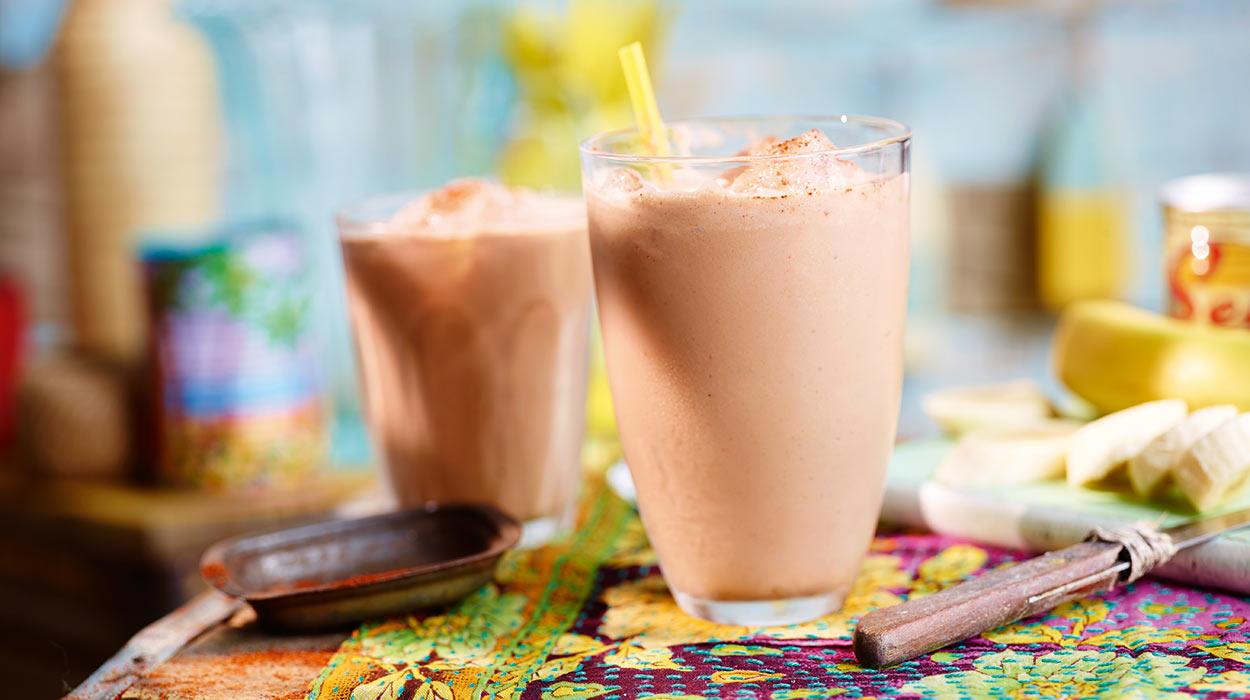 Long drink bananowo-czekoladowy z rumem