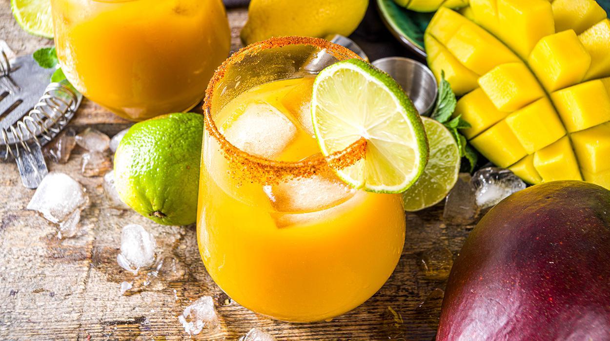 Mango Margarita bez alkoholu