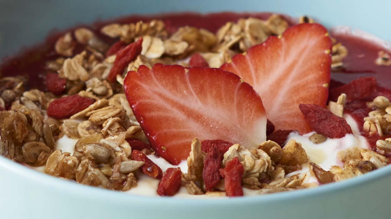 Śniadaniowa granola