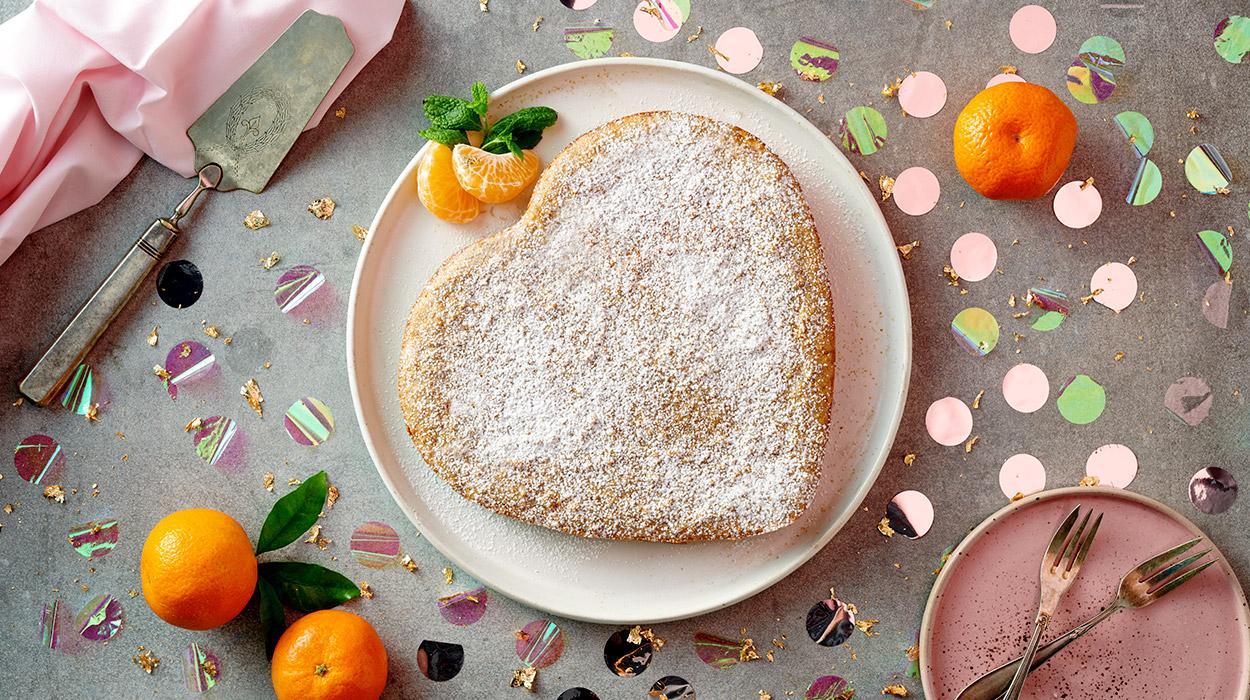 Fitciasto mandarynkowe bez mąki