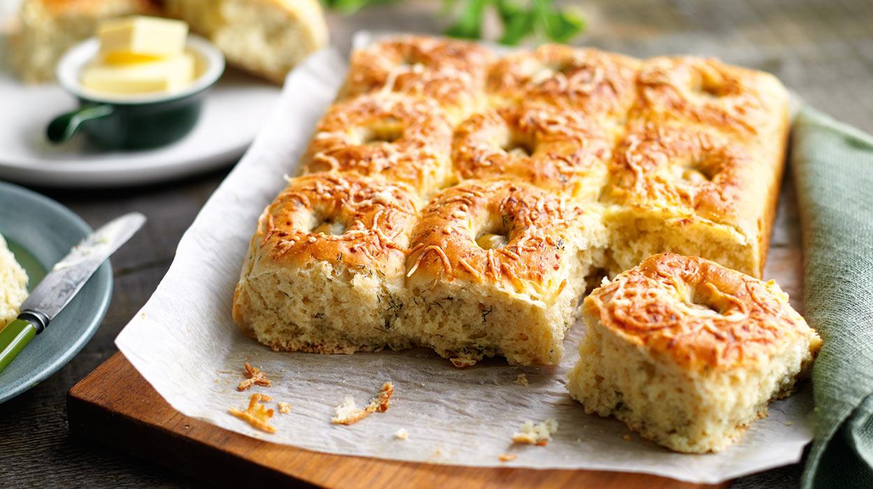 Bułeczki z serem i koperkiem