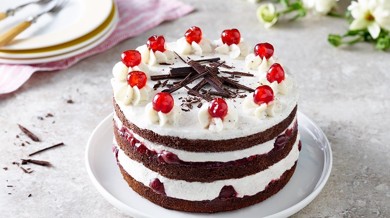 """Bezglutenowy tort """"Czarny Las"""""""