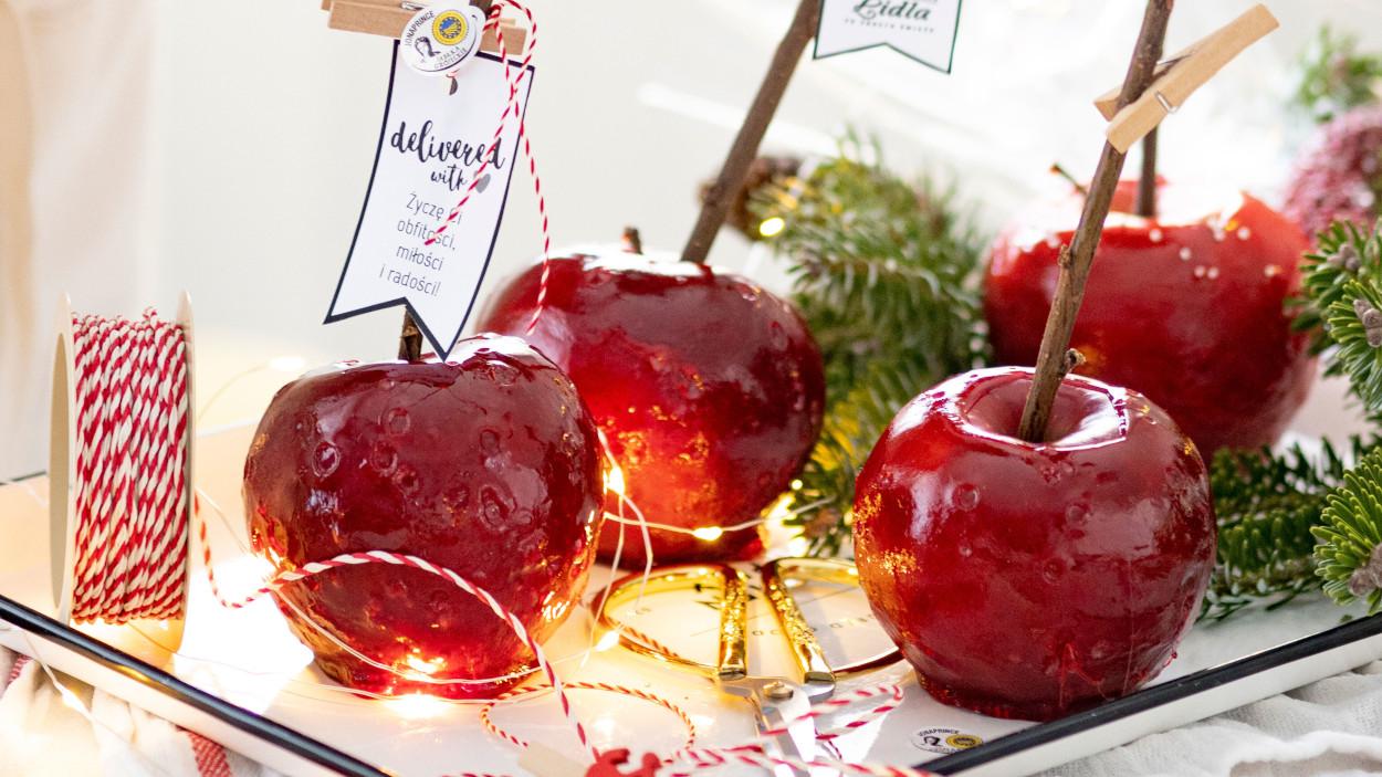 Jadalne prezenty: Jabłka w karmelu