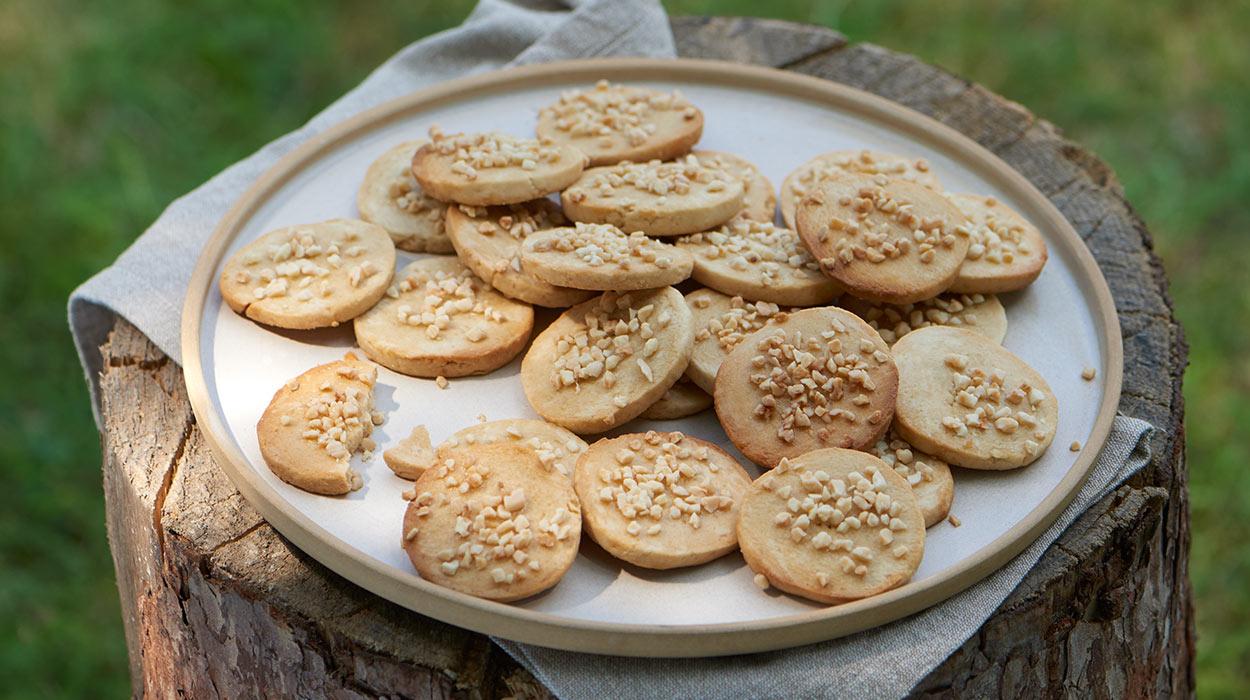 Kruche miodowe ciasteczka