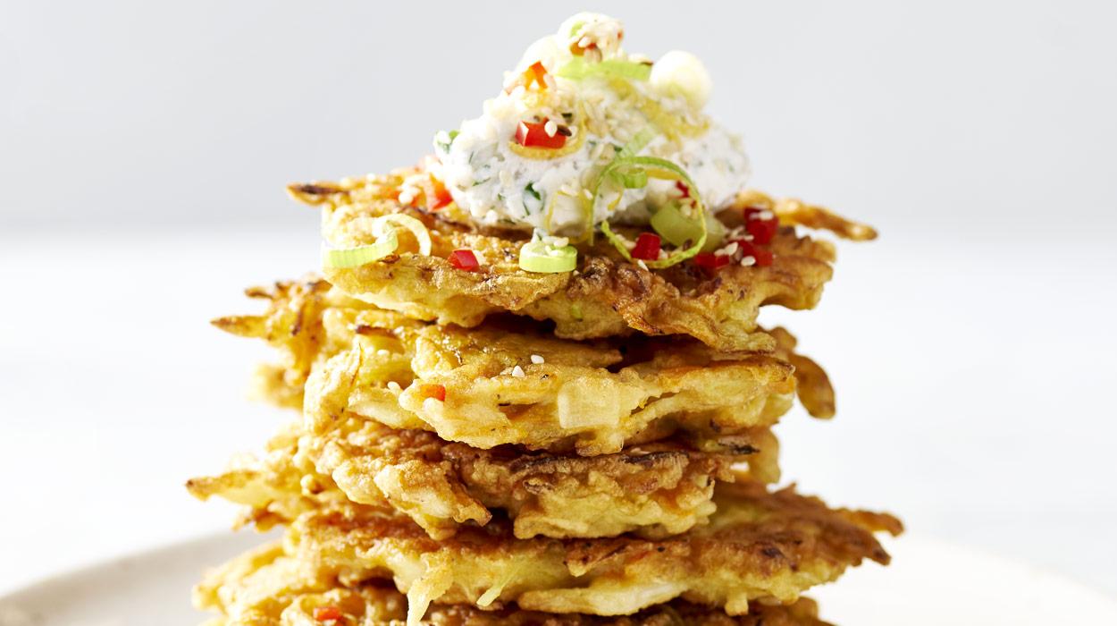 Japońskie placki warzywne - okonomiyaki