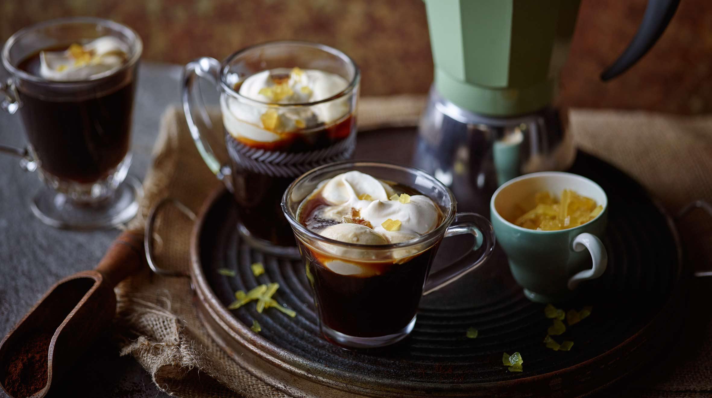 Kawa z imbirem