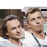 Karol Okrasa i Jack Gadovsky