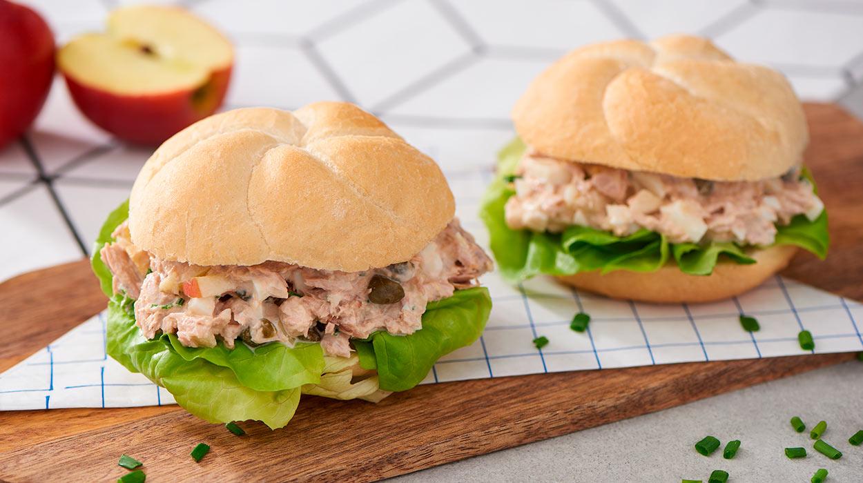Holenderska sałatka z tuńczyka