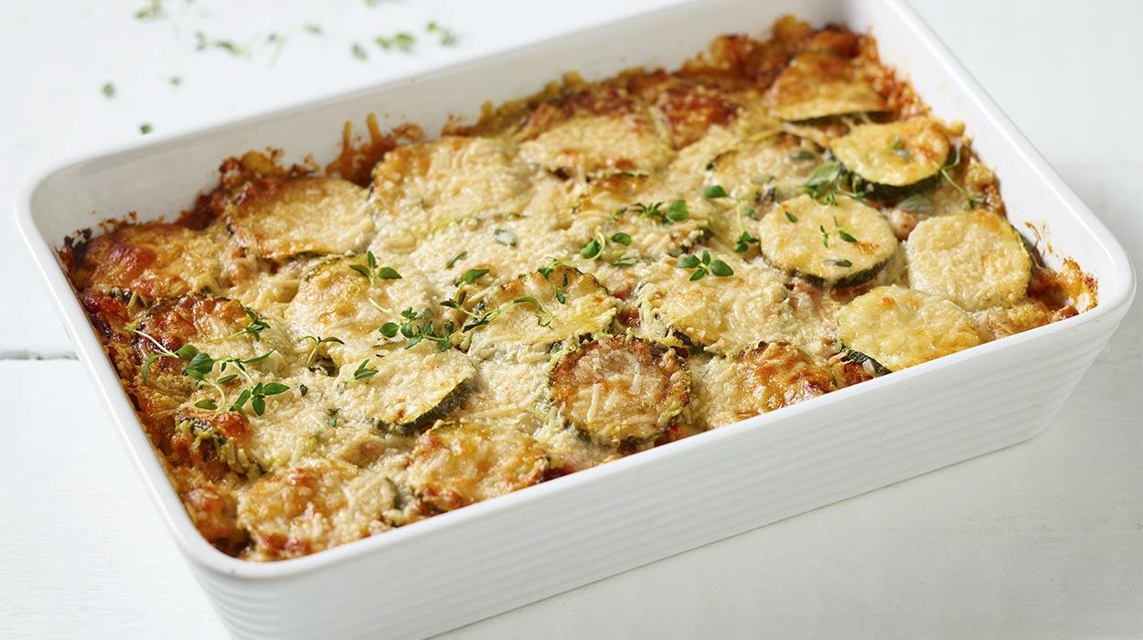 Odchudzone lasagne