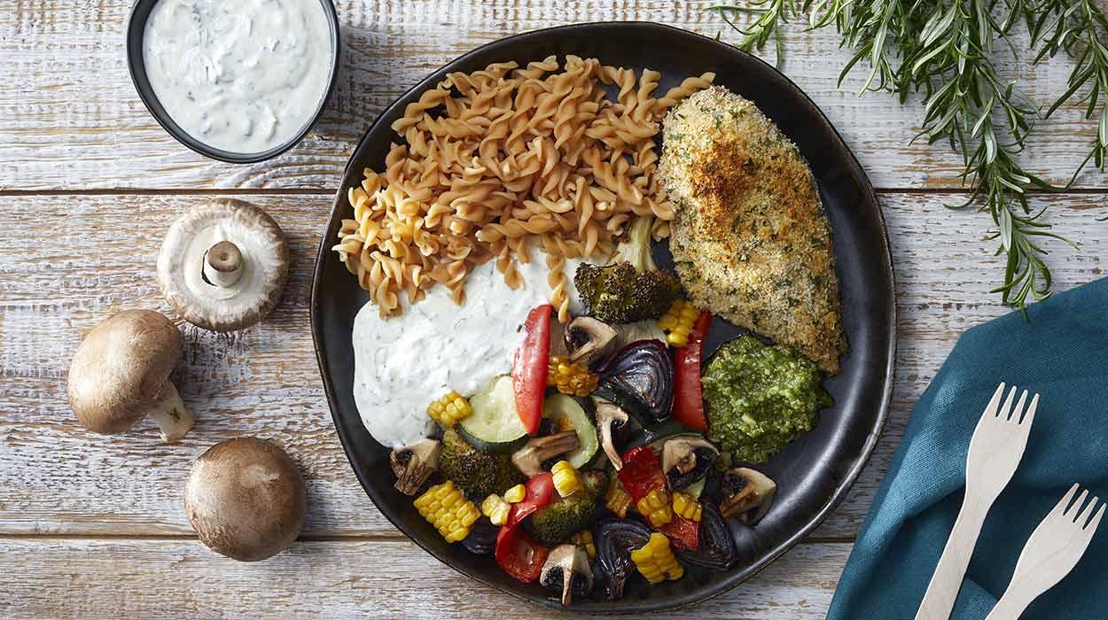 Grillowane warzywa z kurczakiem i pomysły na jadłospis
