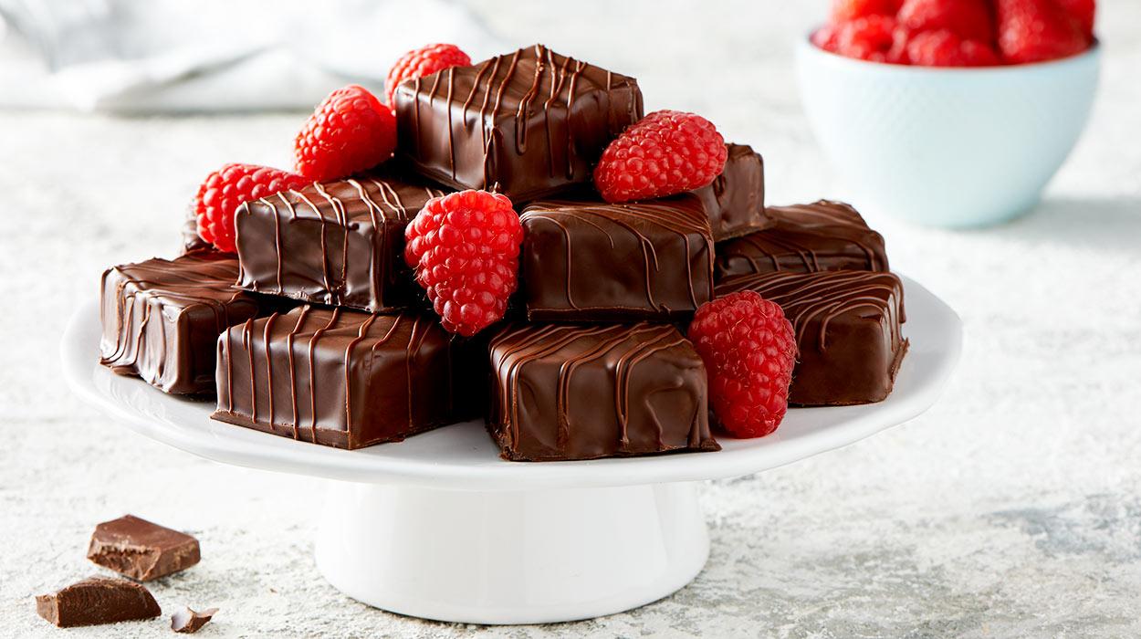 Puszyste pianki w czekoladzie