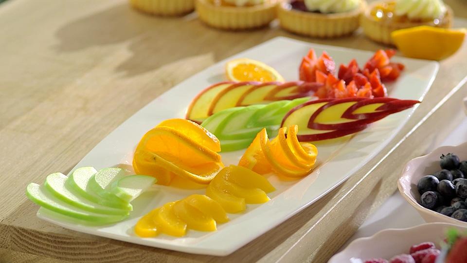 Krojenie Owoców I Dekorowanie Ciast Kuchnia Lidla