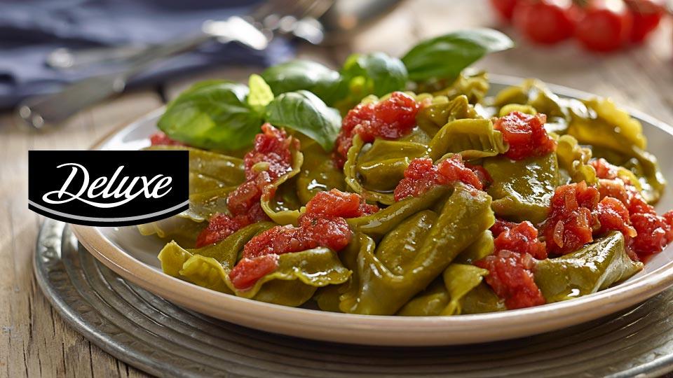 Tortelloni z sosem pomidorowym