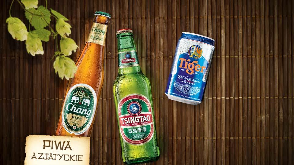 Piwa z egzotycznych stron
