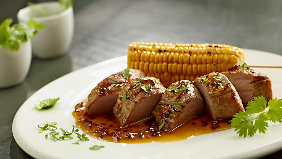Polędwiczki wieprzowe po meksykańsku, dla twardzieli