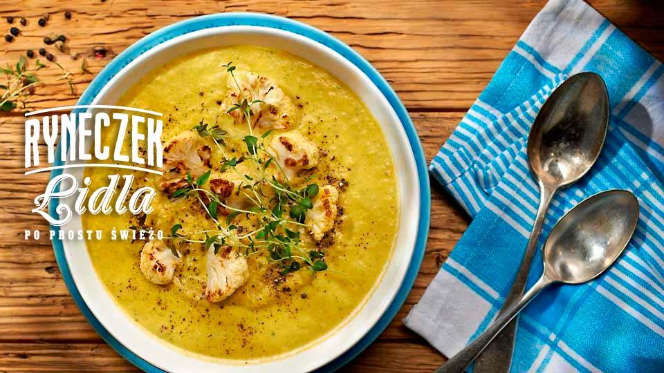 Zupa krem z rukoli i kalafiora