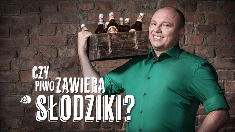 Czy piwo zawiera słodziki?