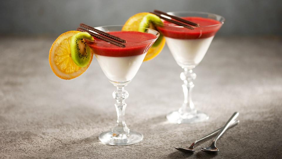 Deser jogurtowo-truskawkowy
