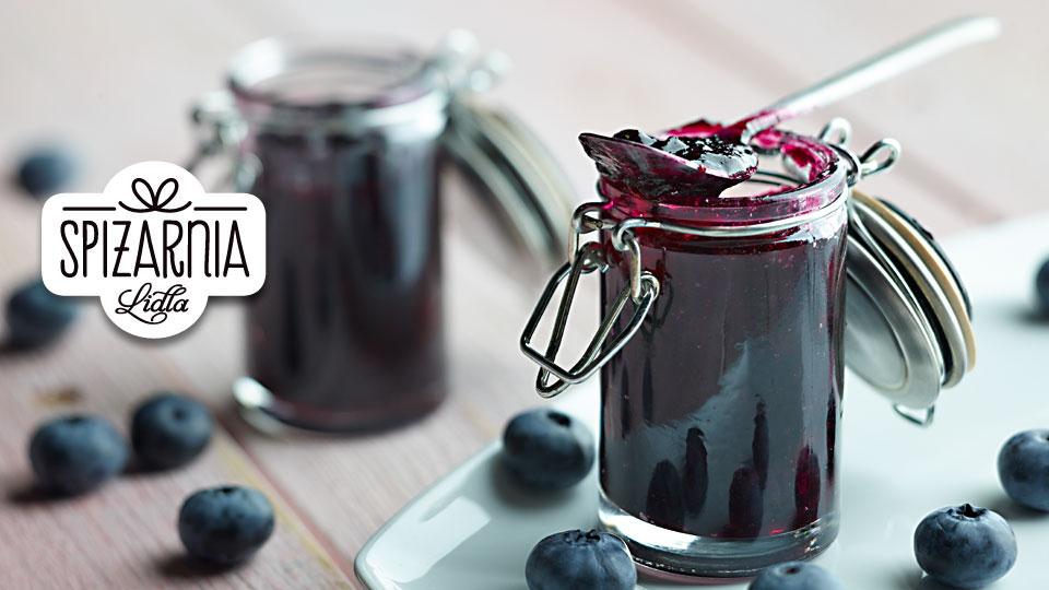 Konfitury borówkowe z czerwonym winem