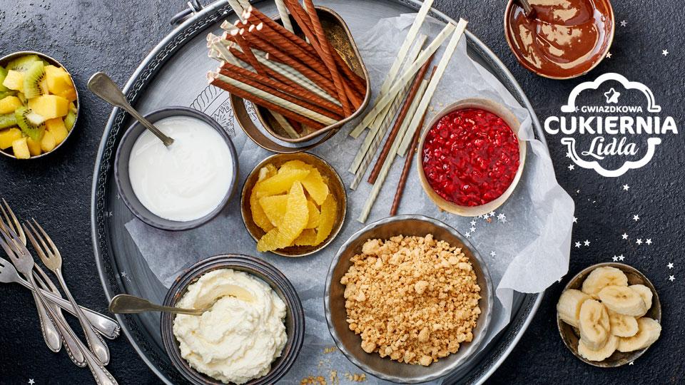 Słodki bufet Pawła Małeckiego