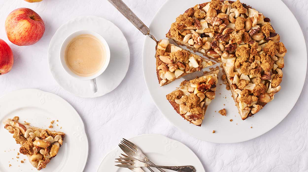 """Ciasto """"pszczółka"""" z orzechami włoskimi"""